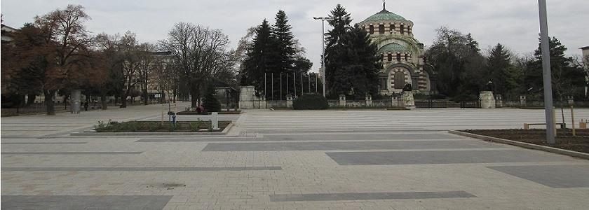 Renovation, modernization, reconstruction of Central pedestrian zone, city of Pleven